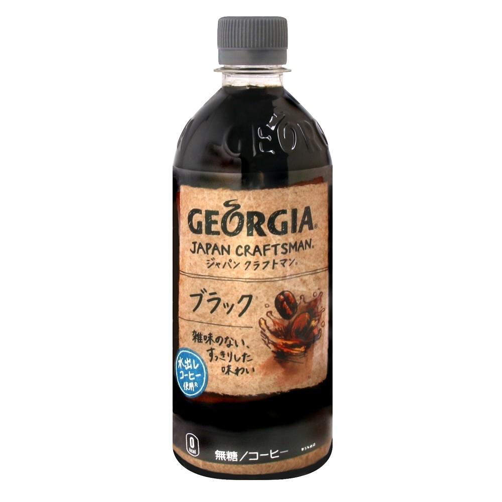 可口可樂 GEORGIA咖啡-Black(500g)