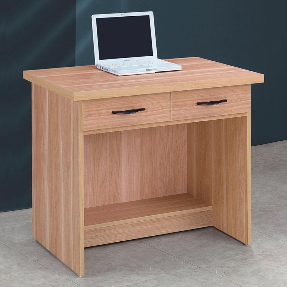 Bernice-原切橡木浮雕2.7尺書桌-81×58.5×74cm