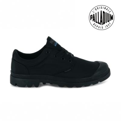 PALLADIUM PAMPA OX PUDDLE LITE+ WP+輕量防水鞋-中性-黑