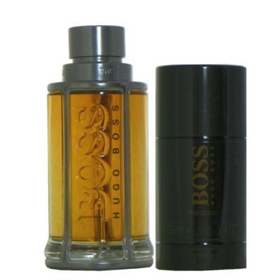 Hugo Boss The Scent 紳士淡香水100ml + 體香膏 75ml 無外盒包裝