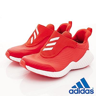 adidas童鞋 輕量運動鞋 HTW626紅(中大童段)