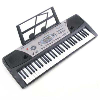 61鍵音樂多功能電子琴樂器(附麥克風、歌本架)