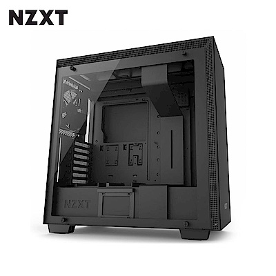 NZXT恩傑 H700 MID-TOWER CASE 電腦機殼/鋼化側透玻璃-黑