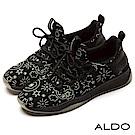 ALDO 街頭塗鴉設計師聯名卡通圖紋限量款女鞋~螢光塗鴉