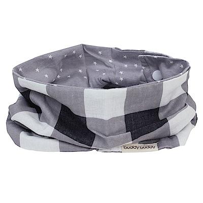 【西村媽媽 】Lucky 時尚圍巾型雙用圍兜(共2色可任選)