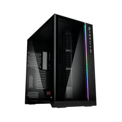 LIAN LI 聯力 O11 Dynamic XL ROG Certified E-ATX玻璃透側機殼(黑) - PC-O11DXL-B ROG