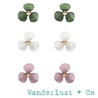 Wanderlust+Co 澳洲品牌 花朵耳環 繽紛六件組 MEADOW SET