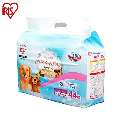【IRIS】AS犬用厚型抗菌尿布 44片入 兩包組