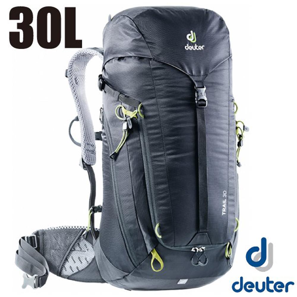 德國 Deuter 新款 Trail 30L 專業輕量拔熱透氣背包_黑
