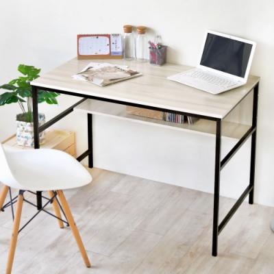 《HOPMA》DIY巧收多層大桌面工作桌/書桌/辦公桌-寬100x深60.5x高75cm