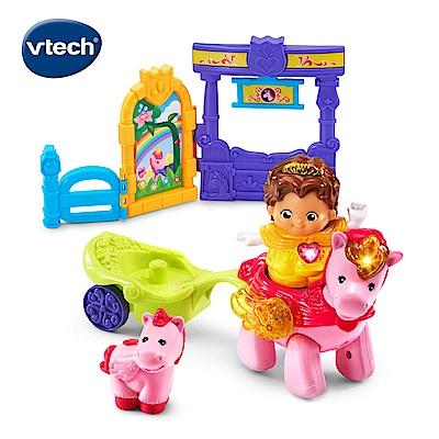 【Vtech】夢幻城堡系列-公主與獨角獸組