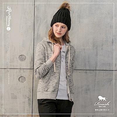 ROUSH 女生雲霧厚棉刷毛連帽外套 ( 3 色)