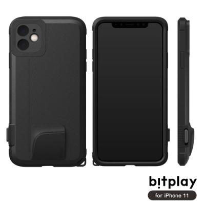 bitplay SNAP! iPhone 11 (6.1吋)專用 喀擦一鍵即拍相機快門鍵全包覆軍規防摔相機殼-黑