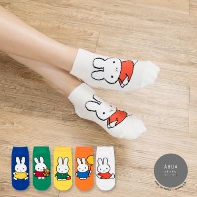 阿華有事嗎 韓國襪子 全身立體米菲兔短襪 韓妞必備短襪 正韓百搭卡通襪