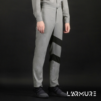 L ARMURE 男裝 斜條造型 西裝褲