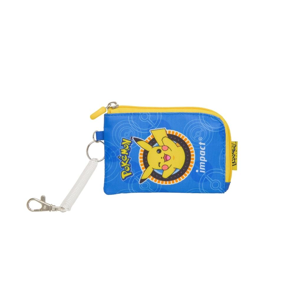 【IMPACT】寶可夢零錢卡袋-藍色 IMPKML02RB