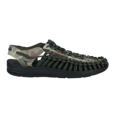 DIADORA 男編織涼鞋-沙灘鞋 健走鞋 水陸鞋 DA71205 黑迷彩綠