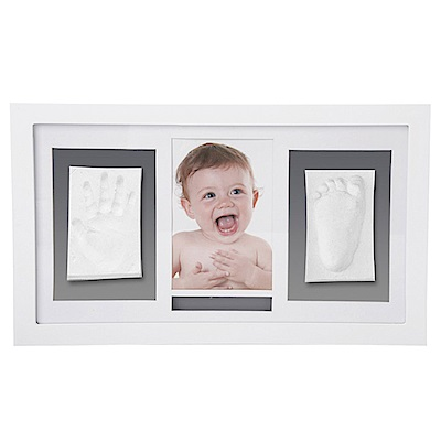 珍愛回憶寶寶手足模印相框(豪華壁掛型)