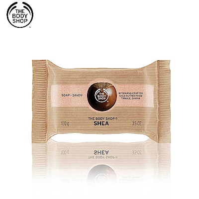 The Body Shop 乳油木果修護潔膚皂100G