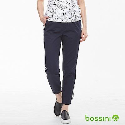 bossini女裝-輕鬆束口長褲01葡萄色