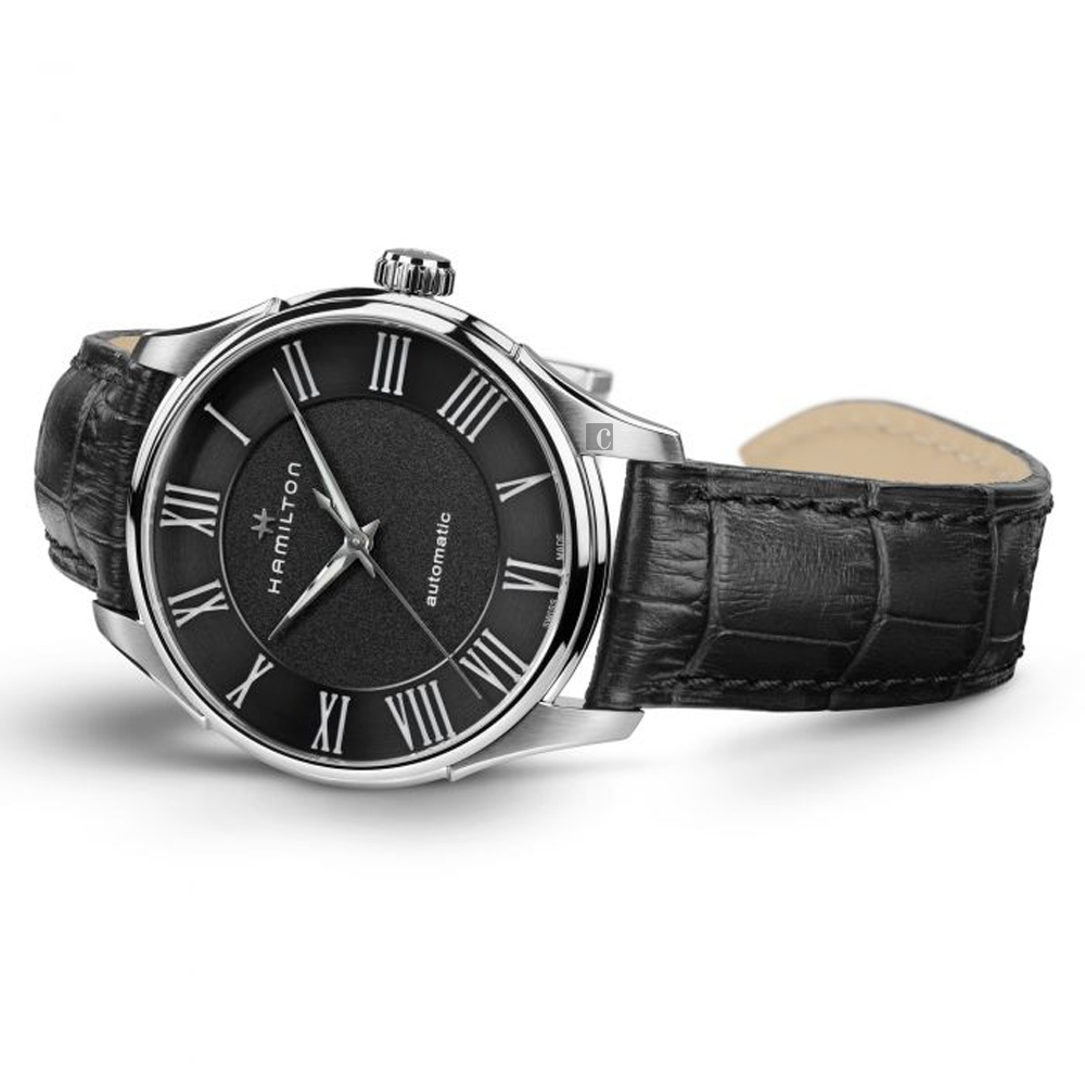 Hamilton JAZZMASTER 爵士機械手錶(H42535730)-40mm