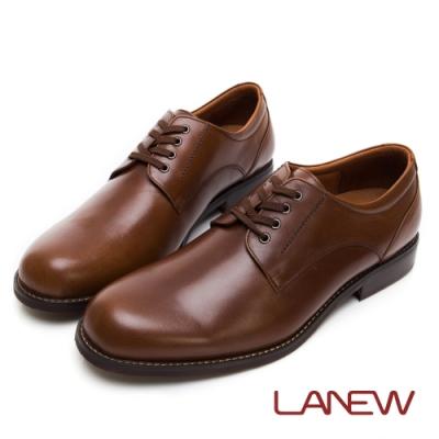 LA NEW Q Lite 經典素面綁帶紳士鞋(男225033500)