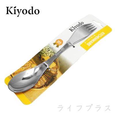 KIYODO不鏽鋼兩用叉匙-12入組