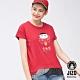 地藏小王 BLUE WAY 金魚姬達摩滾滾短TEE(紅) product thumbnail 1