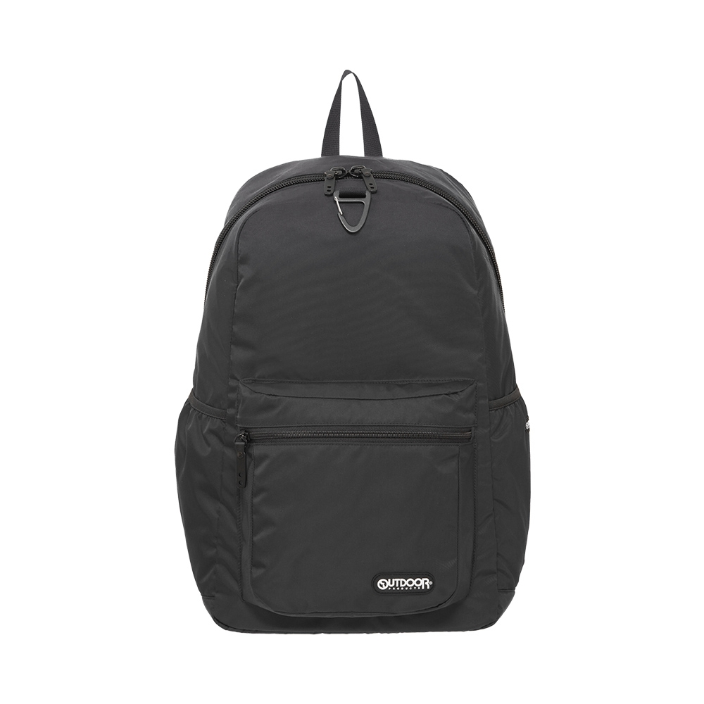 【OUTDOOR】慢活宣言-15.6吋筆電後背包-黑色 OD211033BK