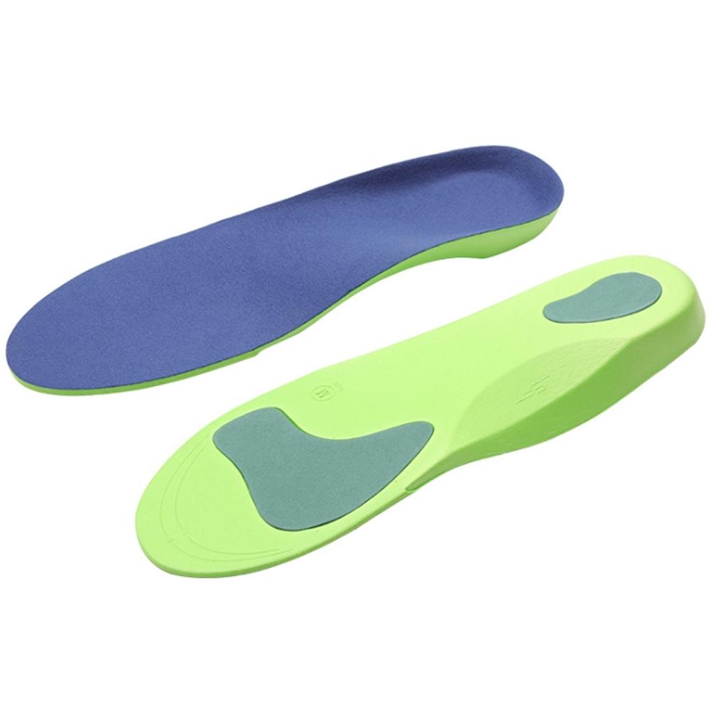 JHS杰恆社abe173扁平足美型鞋墊男女透氣吸汗足外翻內外八字O形X型腿按摩足弓墊
