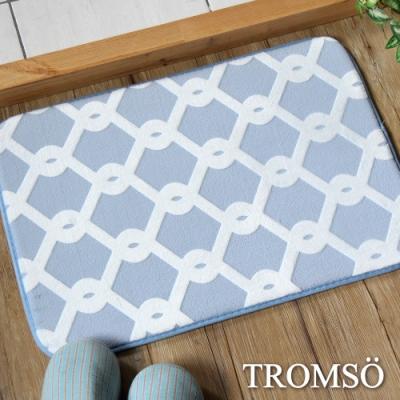 TROMSO法式淬鍊吸水小地墊-藍