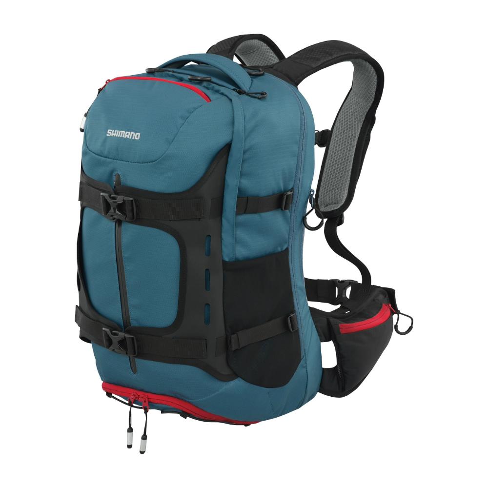 【SHIMANO】HOTAKA 30L 登山旅行背包 軍藍