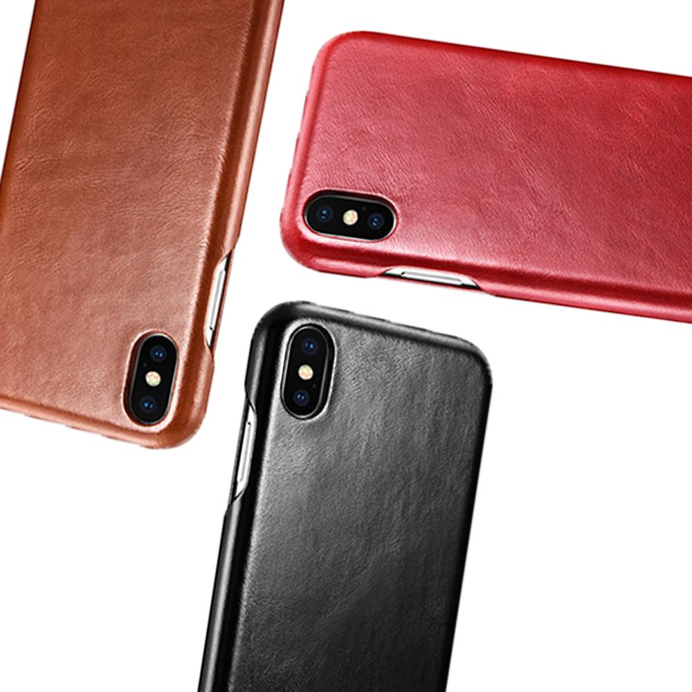 iStyle iPhone XS Max 6.5吋 真皮手機皮套 @ Y!購物