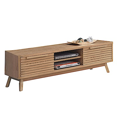品家居 妮亞5.1尺實木長櫃/電視櫃-151.5x46x48cm免組