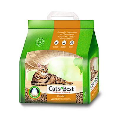德國凱優 CAT S BEST 橘標 崩解型木屑細砂 10L (4.3kg)