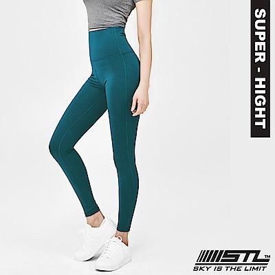 STL Leggings Pure 9 韓 女 超高腰運動拉提褲 純粹絲綠