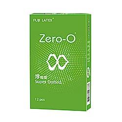 FUJI LATEX ZERO-0 零零系列 浮粒型 衛生套 保險套 12入