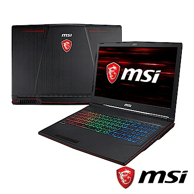 MSI微星 GP63-485 15吋電競筆電(i7-8750H/16Optane/1060