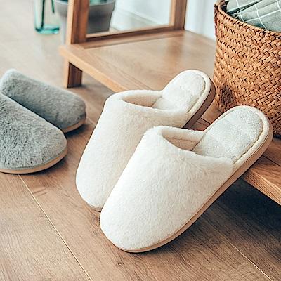 ego life 高密度短毛絨包頭男女室內保暖拖鞋