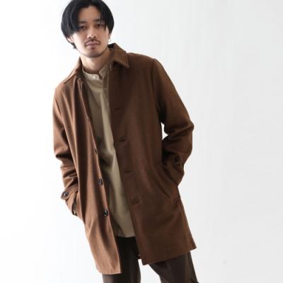 風衣外套長袖外套長大衣(4色) -ZIP日本男裝