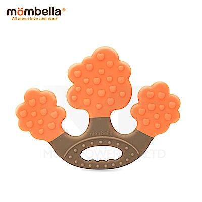 【任選】英國《mombella 》蘋果樹固齒器(橘色)
