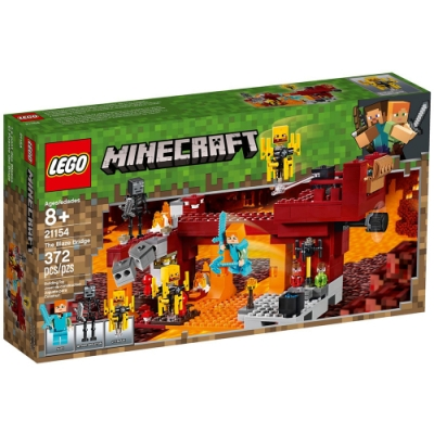 樂高LEGO Minecraft 系列 - LT21154 The Blaze Bridg