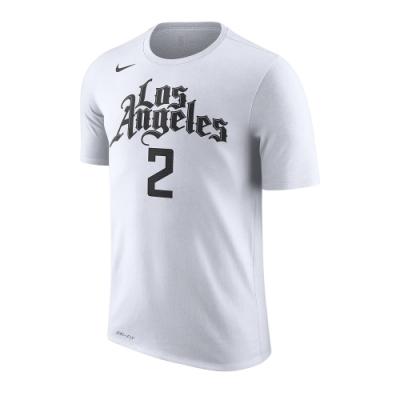 NIKE NBA 城市版 短袖T恤 快艇隊 Kawhi Leonard