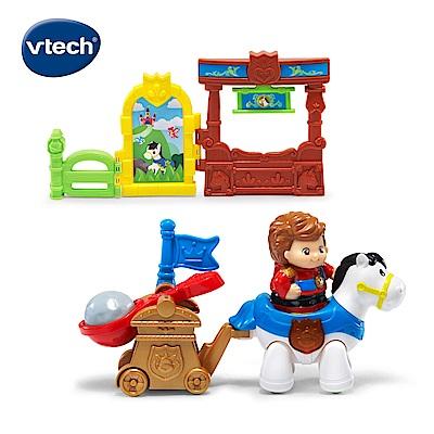 【Vtech】夢幻城堡系列-王子與白馬