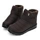 PLAYBOY 暖感防潑水短筒機能雪靴-咖-Y676544 product thumbnail 1