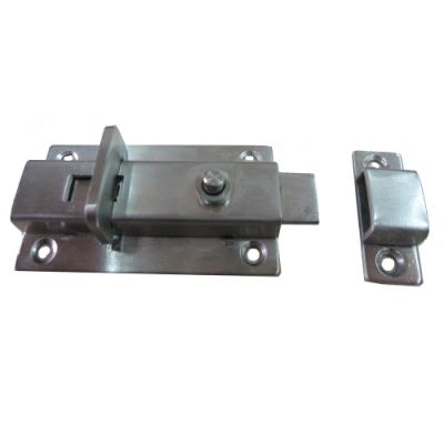 A-03 自動方型栓/浴廁鎖/平閂/白鐵製門閂/平閂/橫栓/暗閂/天地閂