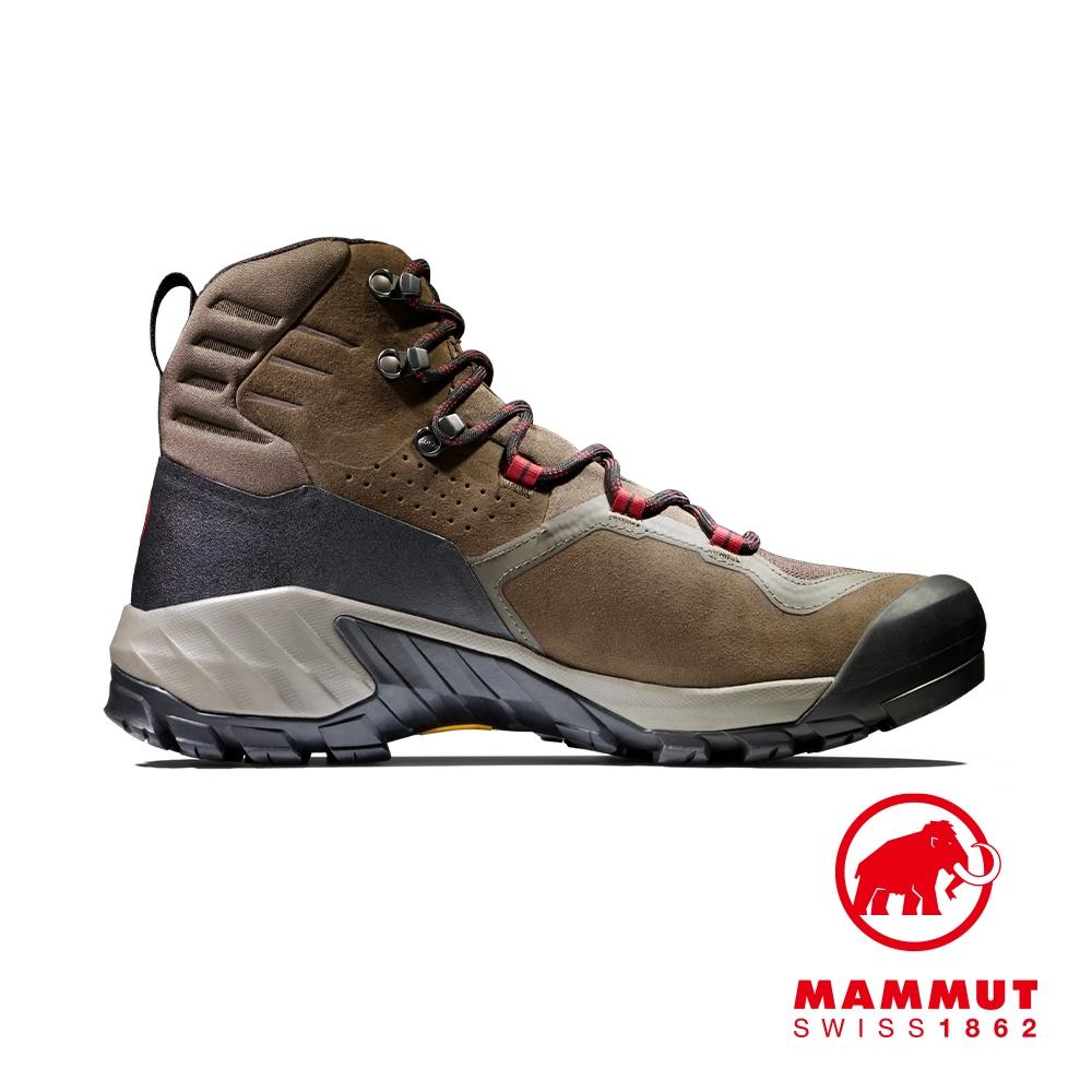 【Mammut】Sapuen High GTX Men 高筒健行登山鞋 棕色/熔岩紅 男款 #3030-04240
