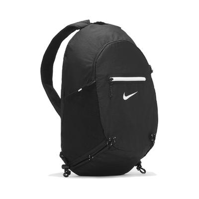 Nike 後背包 Stash Backpack 男女款 輕巧 可收式 輕便 旅行 健身 雙肩背 黑 白 DB0635-010