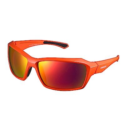 【SHIMANO】PULSAR 橘色鏡框 紅色煙燻鍍膜鏡片