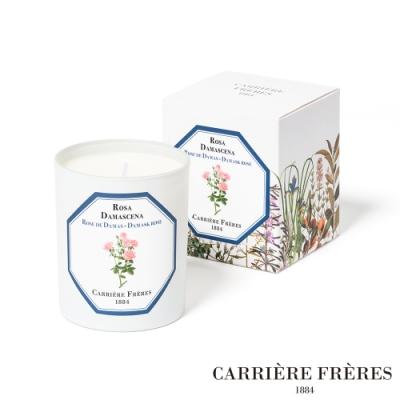 法國CARRIERE FRERES 天然手工香氛 大馬士革玫瑰 Damask Rose 185g